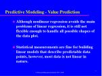 predictive modeling value prediction2