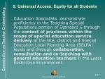 6 universal access equity for all students
