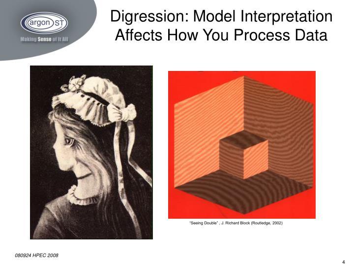 Digression: Model Interpretation Affects How You Process Data
