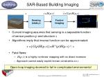 sar based building imaging