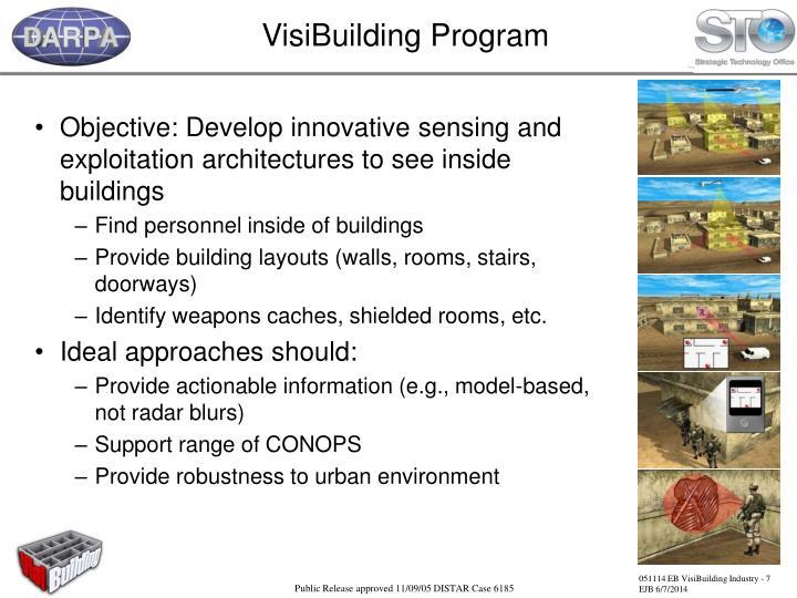 VisiBuilding Program