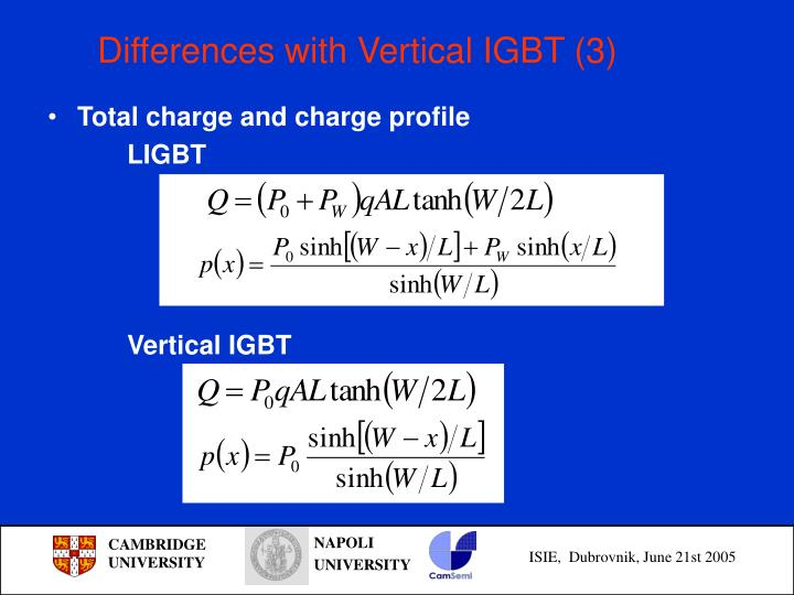 Differences with Vertical IGBT (3)
