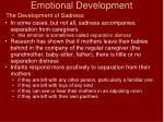 emotional development11