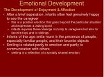 emotional development16