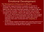 emotional development17