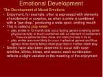 emotional development19