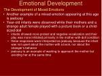 emotional development21