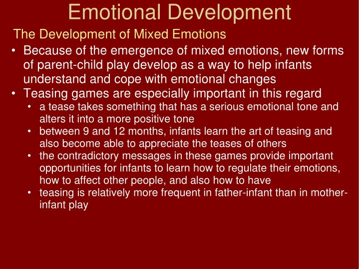 The Development of Mixed Emotions
