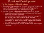 emotional development22