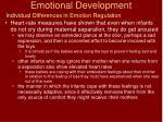emotional development25