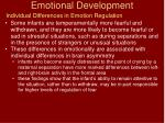 emotional development26