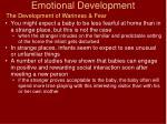 emotional development9