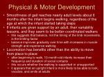 physical motor development5