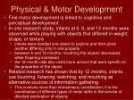 physical motor development8