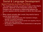 social language development10