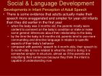 social language development14