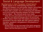 social language development18