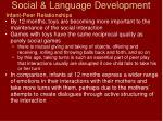 social language development21