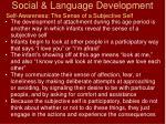 social language development24