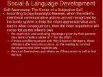 social language development26