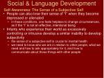 social language development27