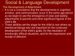 social language development30