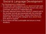 social language development43