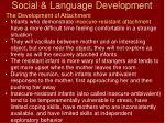 social language development44