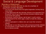 social language development52