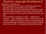 social language development53