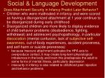 social language development75
