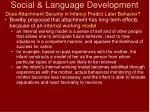 social language development76