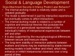 social language development77