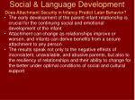 social language development79