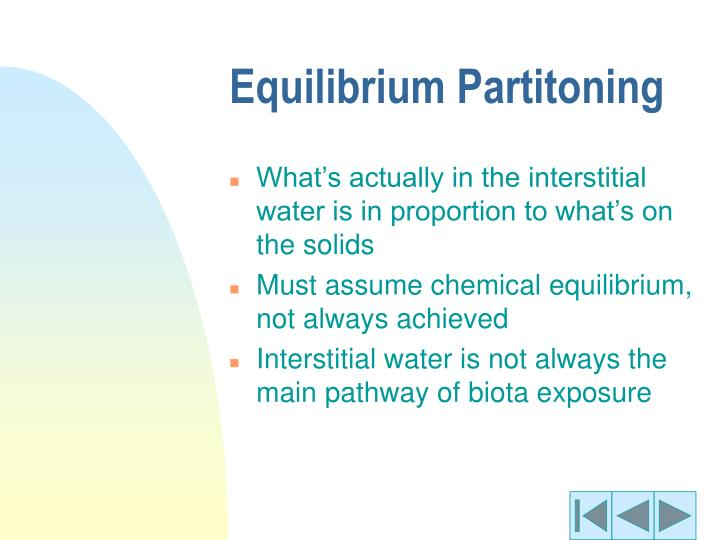 Equilibrium Partitoning