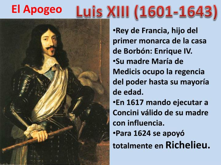 Luis XIII (1601-1643)