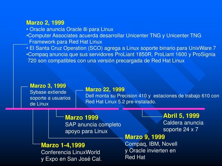 Marzo 2, 1999