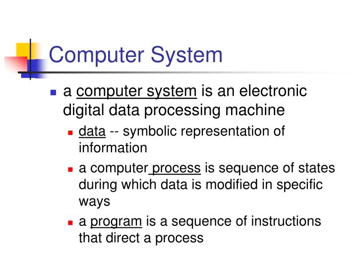 Computer System