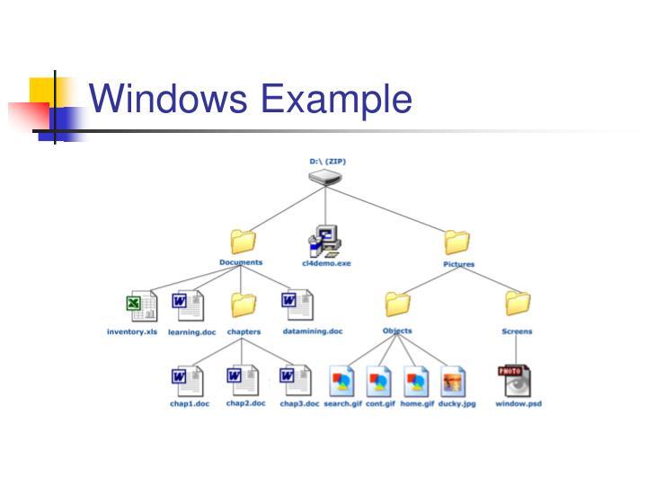 Windows Example