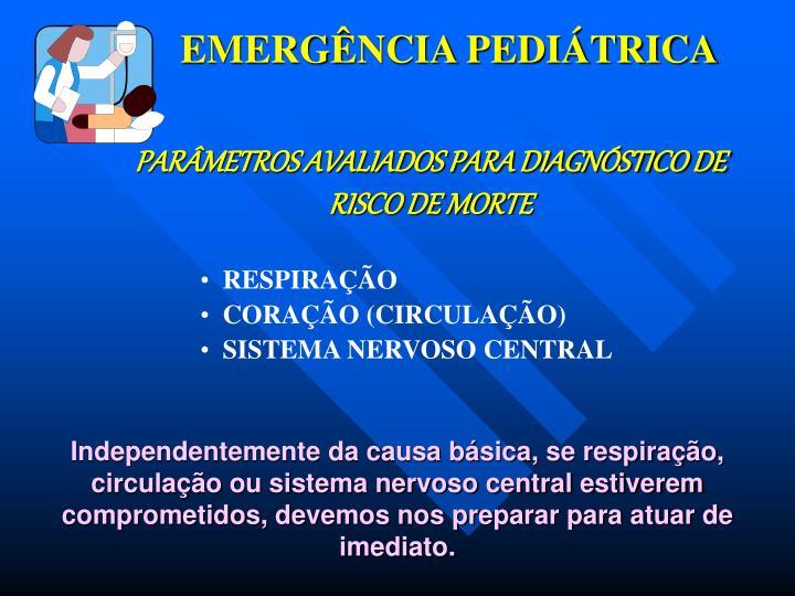 EMERGÊNCIA PEDIÁTRICA