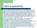 campi di applicazione1