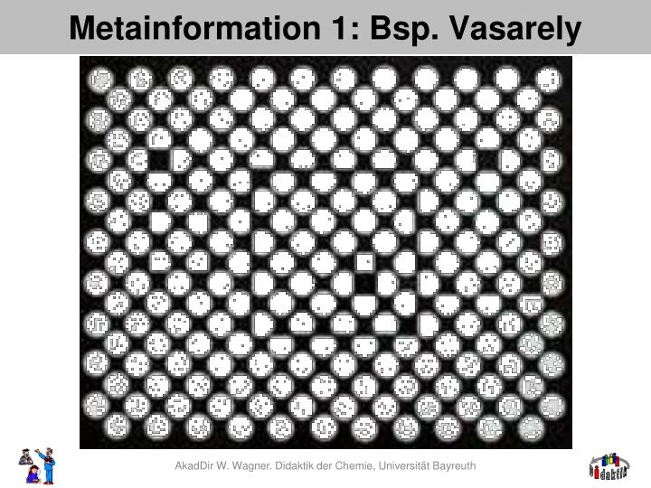 Metainformation 1: Bsp.
