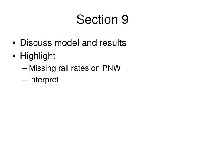 Section 9