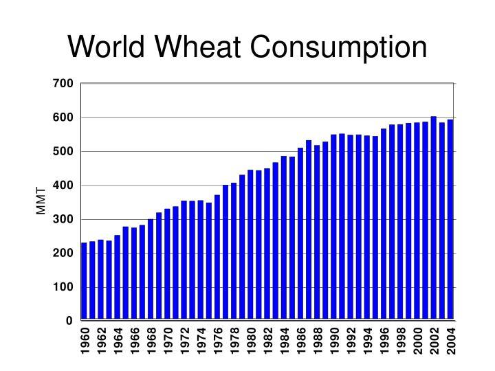 World Wheat Consumption
