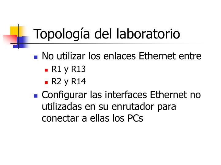 Topología del laboratorio
