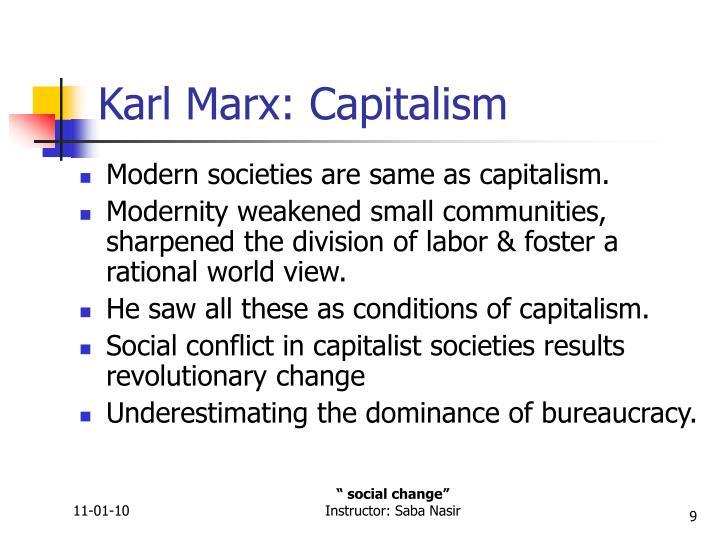 Karl Marx: Capitalism