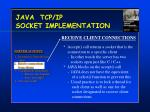 java tcp ip socket implementation10