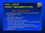 java udp ip socket implementation2
