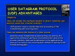 user datagram protocol udp advantages