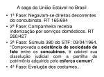 a saga da uni o est vel no brasil